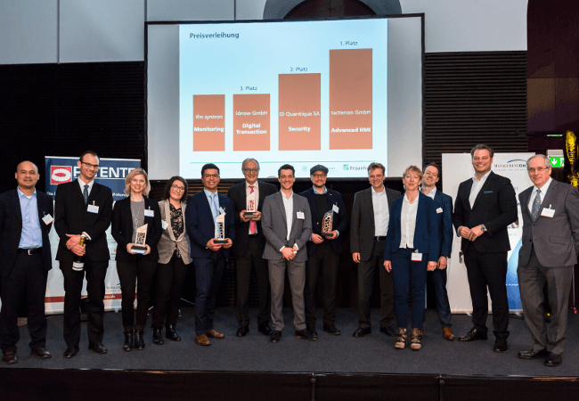 IDQ wins award at Fraunhoher IAO 2018