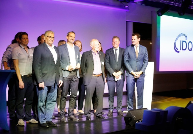 ID Quantique awarded the Innovation Prize 2019
