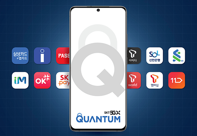 ID Quantique and SK Telecom unveil the Samsung Galaxy Quantum2