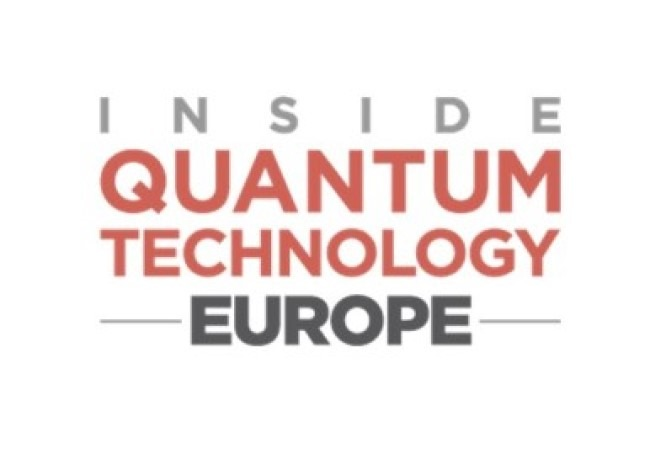 Inside Quantum Technology Europe 26-30 October