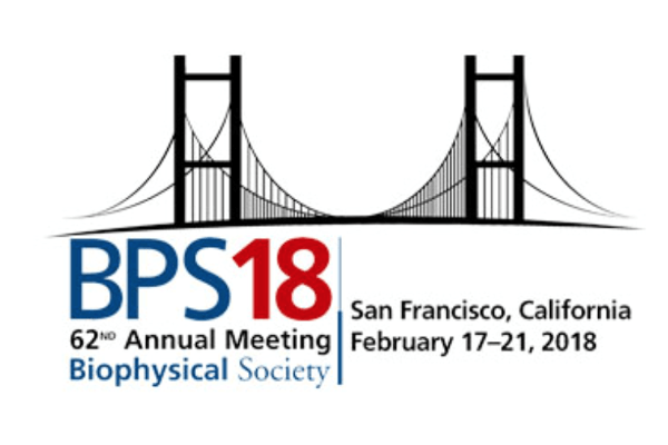 The Biophysical Society Annual Meeting, San Francisco, USA, 17-21 February 2018
